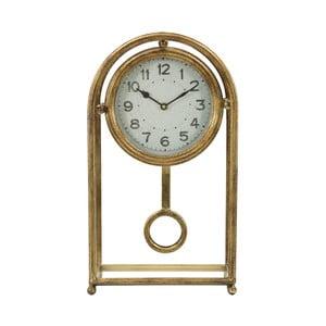 Stolní hodiny ve zlaté barvě Mauro Ferretti Pendol