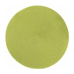 Suport pentru farfurie Tiseco Home Studio Round Chambray, ø38cm, verde