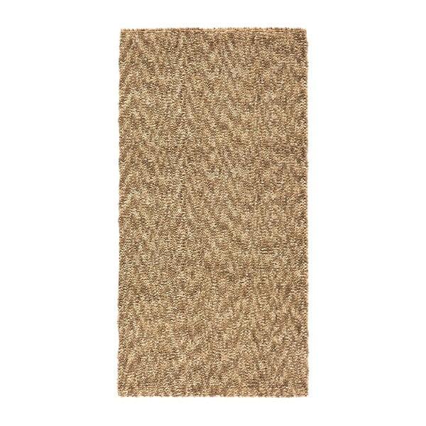 Vlněný koberec Tatoo 110 Beige, 67x200 cm