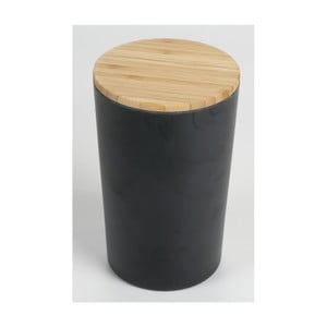 Dóza s bambusovým víkem JOCCA Bamboo, výška18,7cm