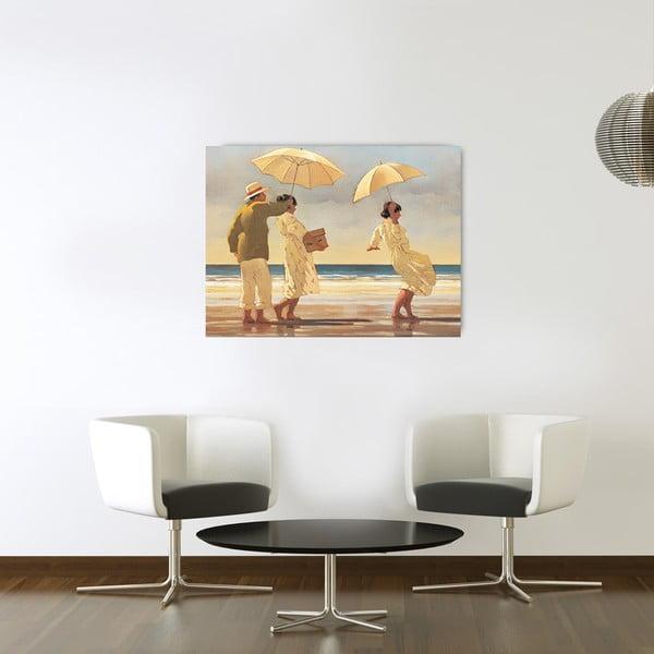 Obraz Vettriano - The Picnic party, 80x60 cm