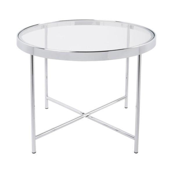 Smooth fehér dohányzóasztal, 60 x 46 cm - Leitmotiv