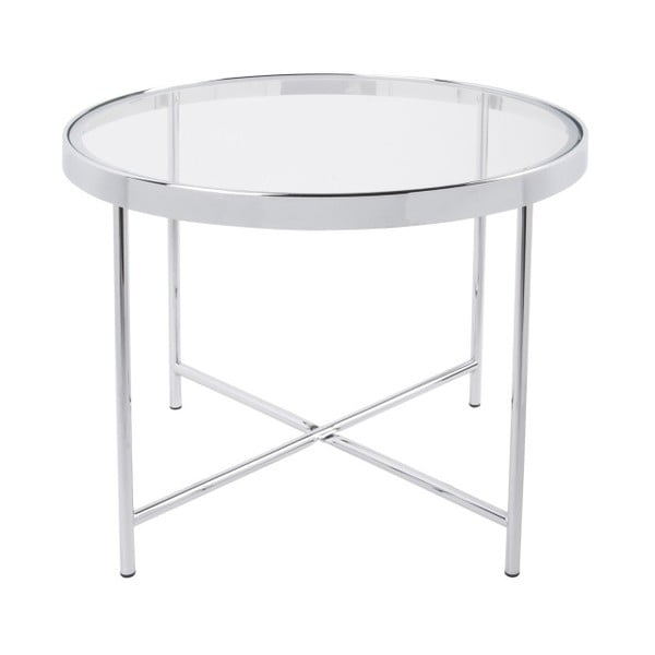 Biały stolik Leitmotiv Smooth, 60x46 cm