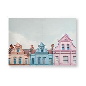 Obraz Graham & Brown Pretty Pastel Skyline, 70 x 50 cm