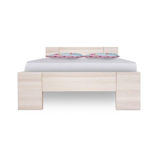 Jednolôžková posteľ z jaseňového dreva Evergreen Houso Sleep Well, 127 x 207 cm