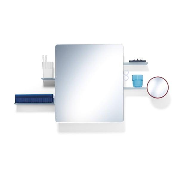 Koupelnová skříňka Kali se zrcadlem, bílá
