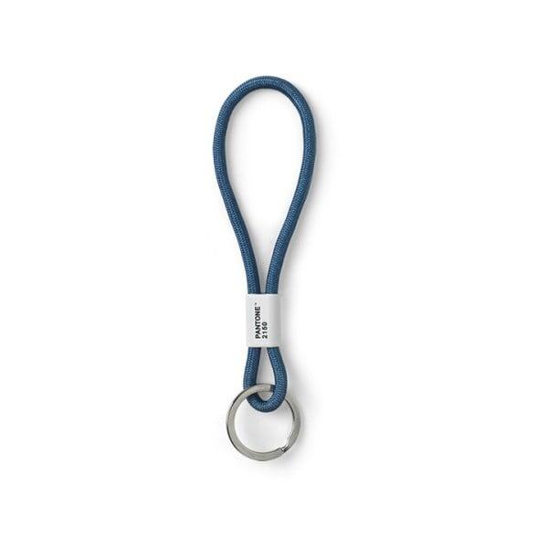 Niebieska smycz na klucze Pantone