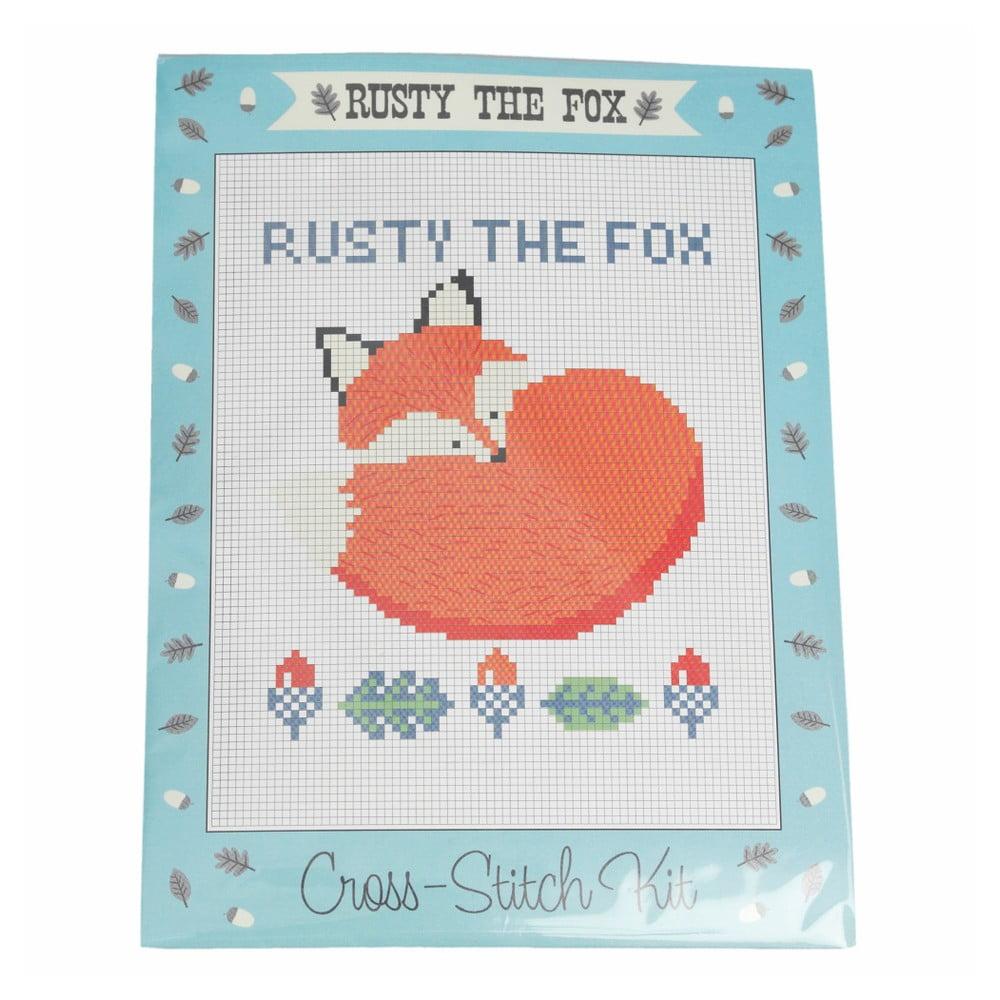 Set na křížkové vyšívání Rex London Rusty The Fox
