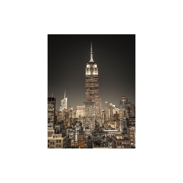 Obraz Empire State Building at Night, 50x65 cm