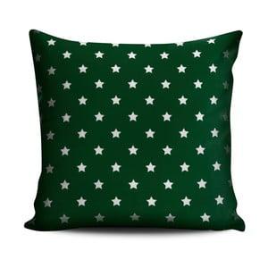 Polštář Homedebleu Green Dots Darko, 45 x 45 cm