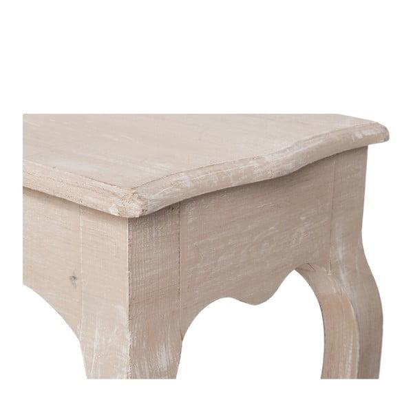 Dřevěný konzolový stolek Paulownia