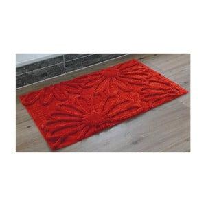 Koupelnová předložka Blume Red, 60x100 cm