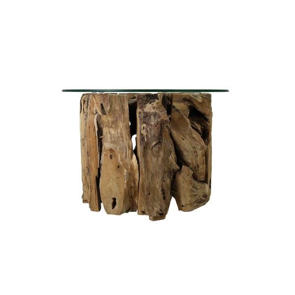 Masă de cafea din lemn de tec HMS collection Root