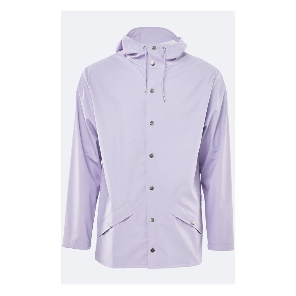 Světle fialová unisex bunda s vysokou voděodolností Rains Jacket, velikost XXS/XS