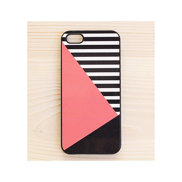 Obal na iPhone 5, Coral in Black