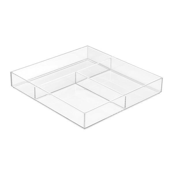 Organizér do zásuvky InterDesign Clarity, 12x12cm
