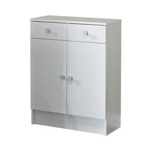 Bílá koupelnová skříňka 13CasaClick