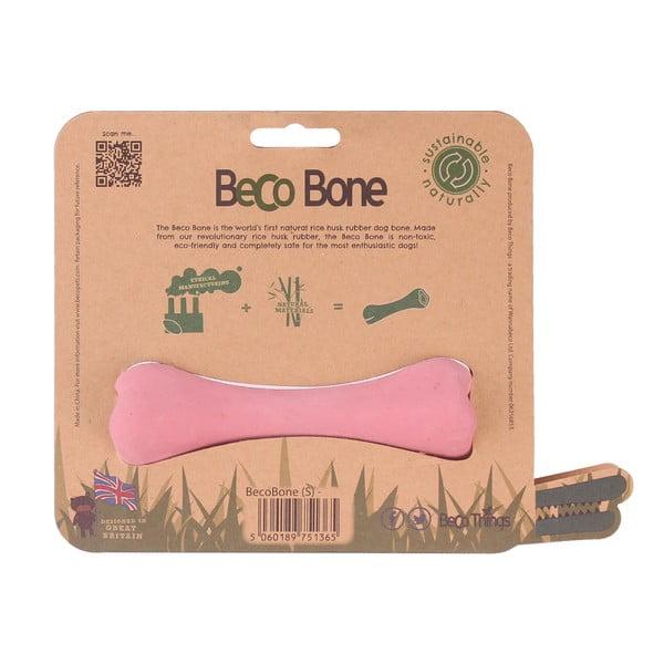 Žvýkací kost pro psy Bone Small, růžová