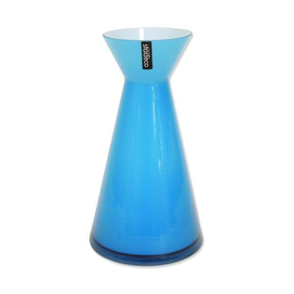 Skleněná váza Istra, modrá