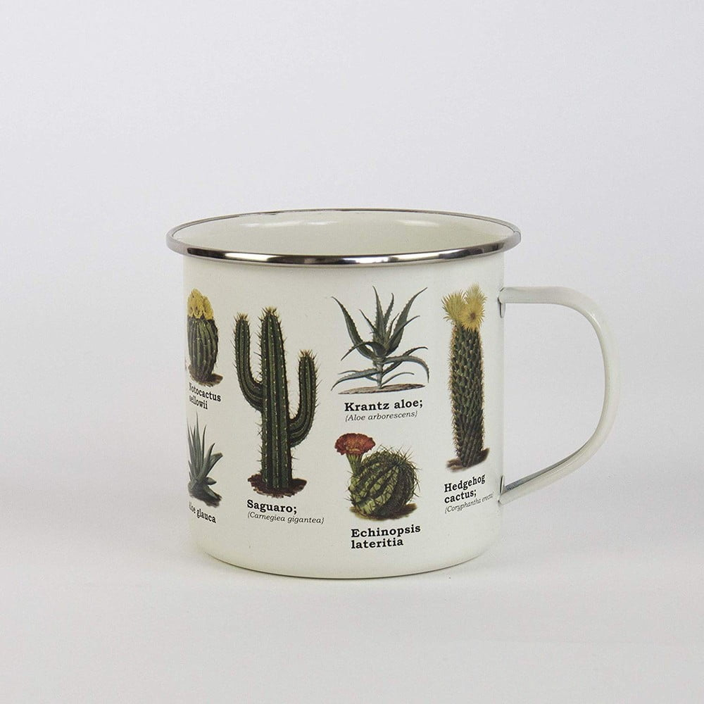 Smaltovaný hrnek Gift Republic Botanica, 350ml