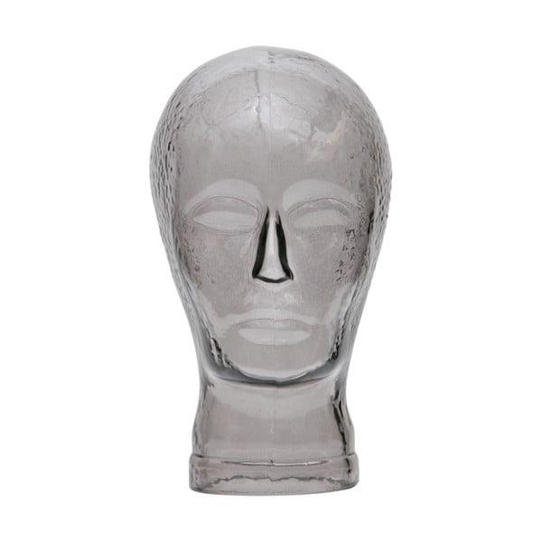 Šedý skleněný stojan na sluchátka/sluneční brýle WOOOD Elvis
