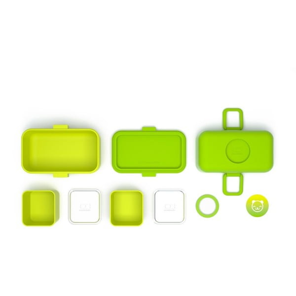 Zelený obědový box Monbento Tresor