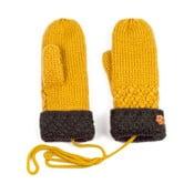Hořčicově žluté dámské rukavice Art of Polo Lena