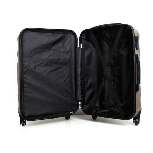 Cestovní kufr ve zlaté barvě na kolečkách Hero Moscou-e,30l