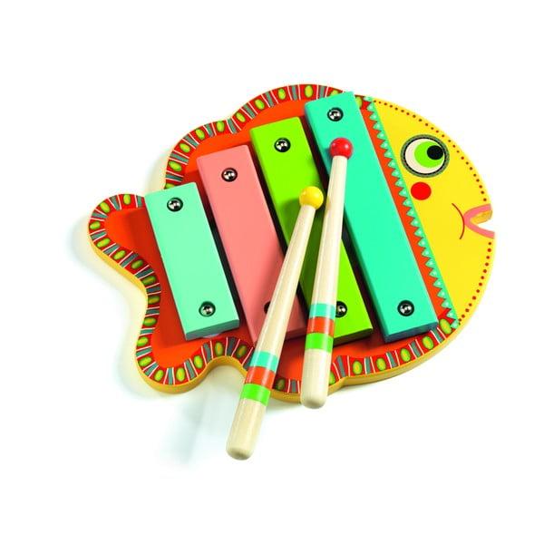 Detský xylofón Djeco Rybička
