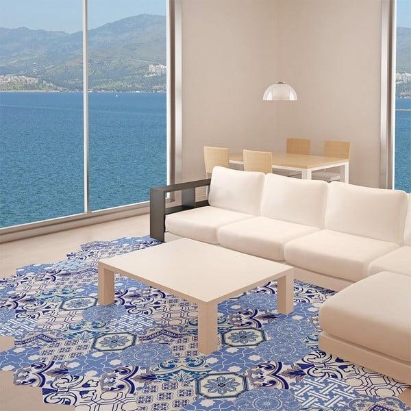 Set 10 autocolante impermeabile pentru podea Ambiance Ursulina, 20 x 18 cm
