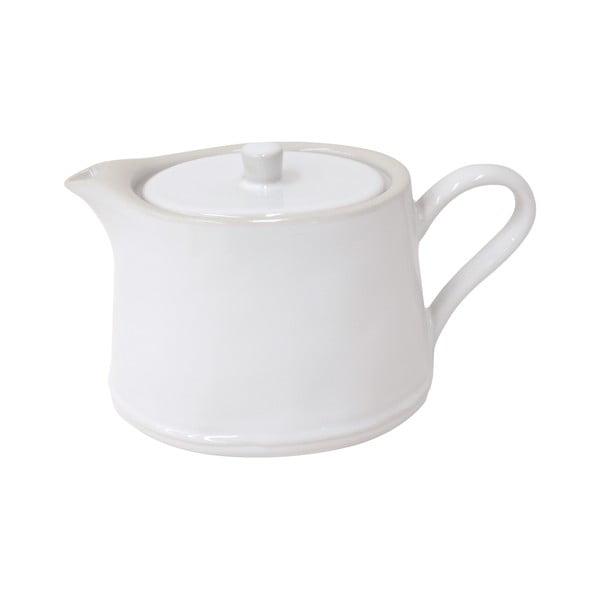 Bílá kameninová konvice na čaj Costa Nova Astoria, 1l