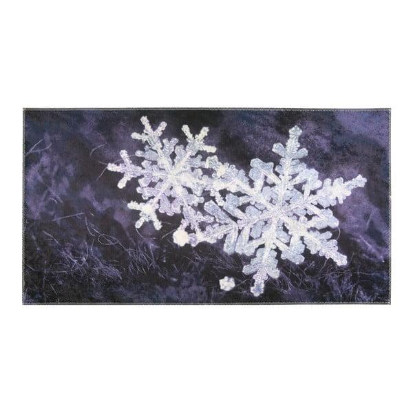 Covor Vitaus Big Snowflakes, 50 x 80 cm