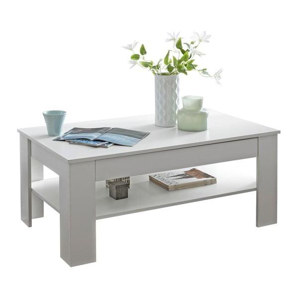 Bílý konferenční stůl Skyport Wohnling Connie, výška 65 cm