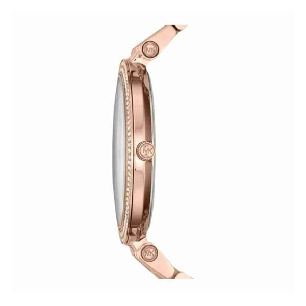 Dámské hodinky v barvě růžového zlata Michael Kors Darci