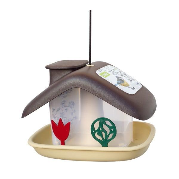 Domek barna madáretető - Plastia