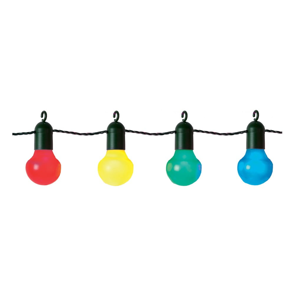 Barevný světelný LED řetěz Best Season Party, 20 světýlek