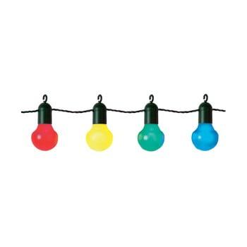 Șirag luminos LED-uri colorate pentru exterior Best Season Party, 20 becuri imagine