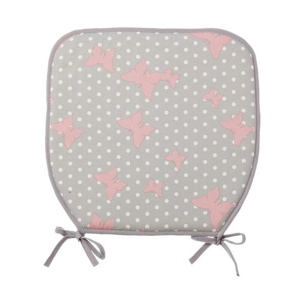 Pernă pentru scaun Pink buuterfly