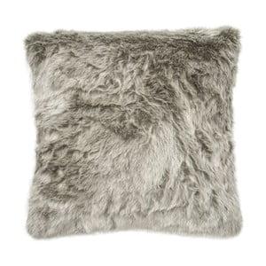 Polštář Faux Fur Silver, 45x45 cm