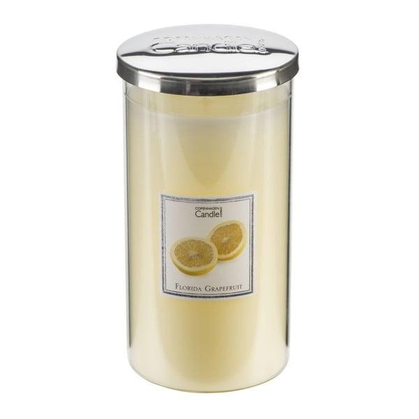 Aroma svíčka s vůní grepfruitů Copenhagen Candles Tall, doba hoření 70 hodin