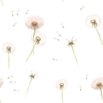 Tapet cu model floral Dekornik Dandelions imagine