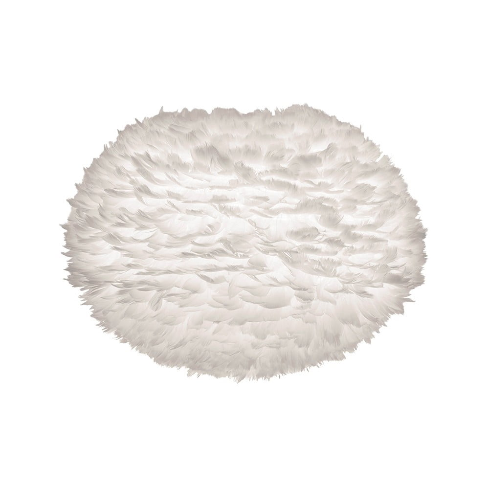 Bílé stínidlo z husího peří VITA Copenhagen EOS, ⌀ 65 cm