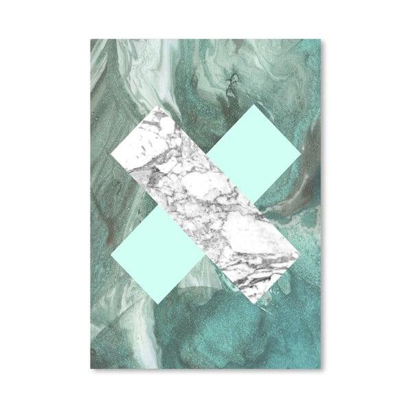 Plakát Geometric Marble X