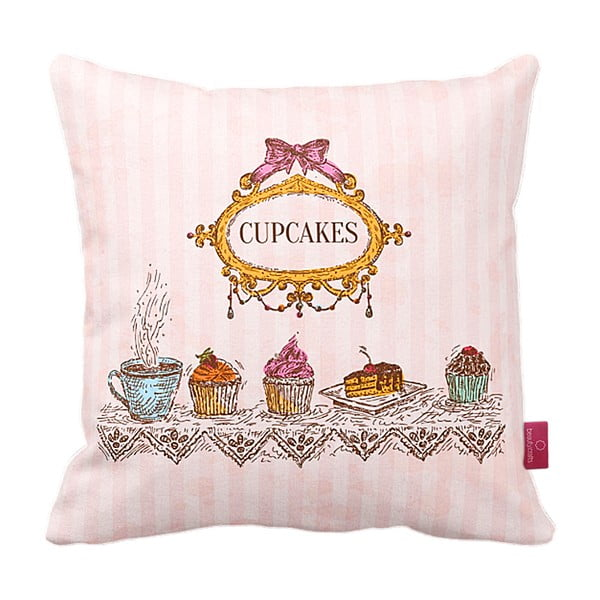 Polštář Royal Cupcakes, 43x43 cm