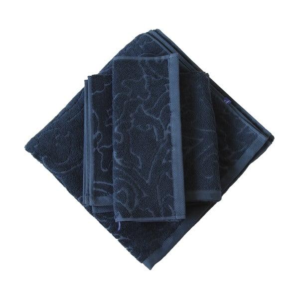 Set 3 ručníků Seaside, modrý