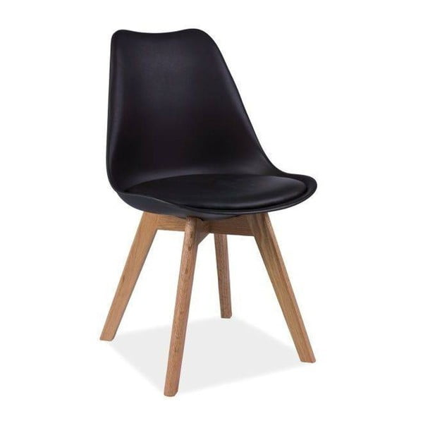 Černá židle Vivir Guay