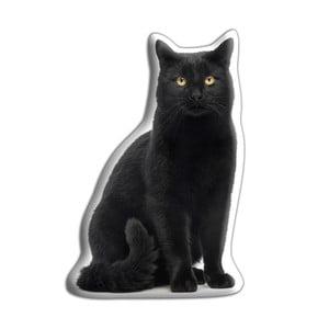 Polštářek s potiskem černé kočky AdorableCushions