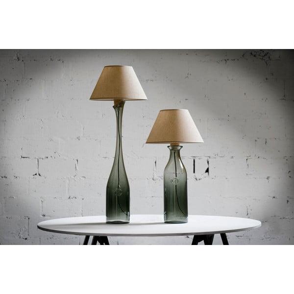 Stolní lampa Glass 90 cm, kouřově modrá