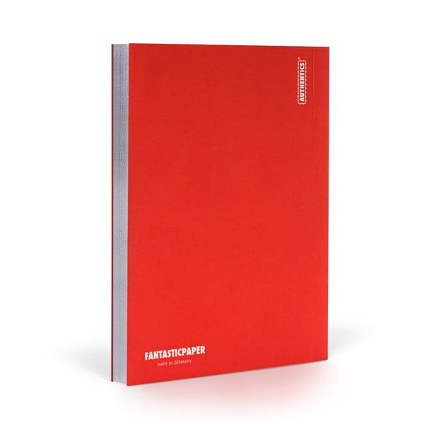 Zápisník FANTASTICPAPER A5 Cherry/Silver, řádkovaný