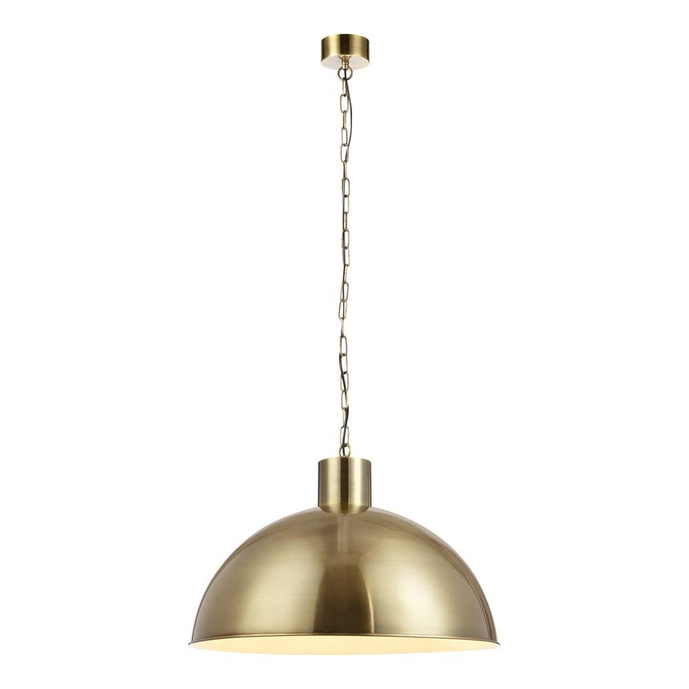 Závěsné svítidlo ve zlaté barvě Markslöjd Ekelund XL Antique